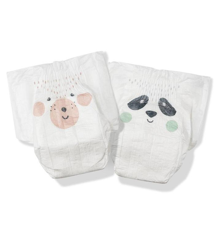 Kit & Kin eco nappies, Size 1 Bear & Panda – Mini 2-6kg (40 pack)