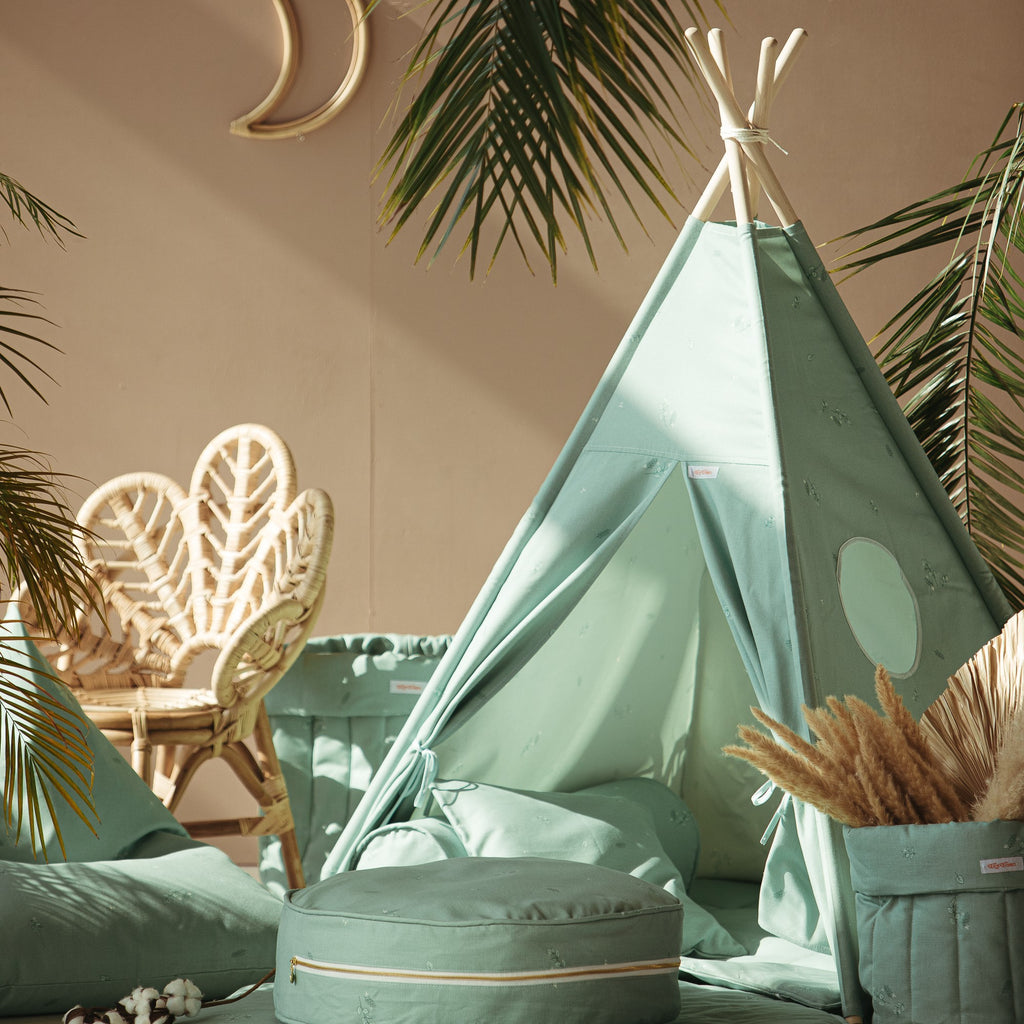 Teepee Tent - Minty Green