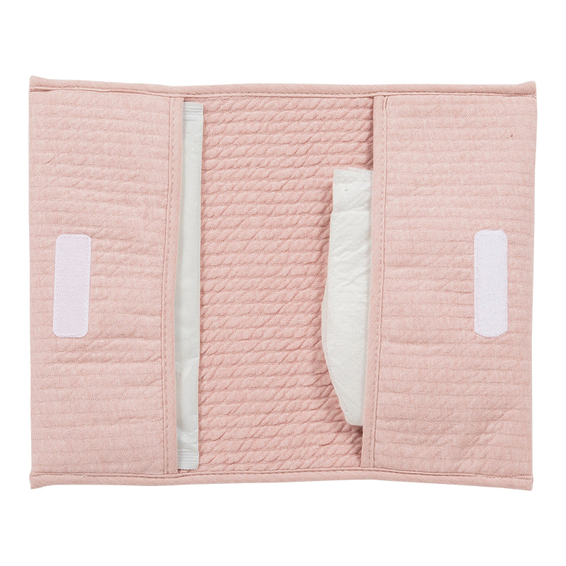 Little Dutch Organic Nappy Pouch - Pink