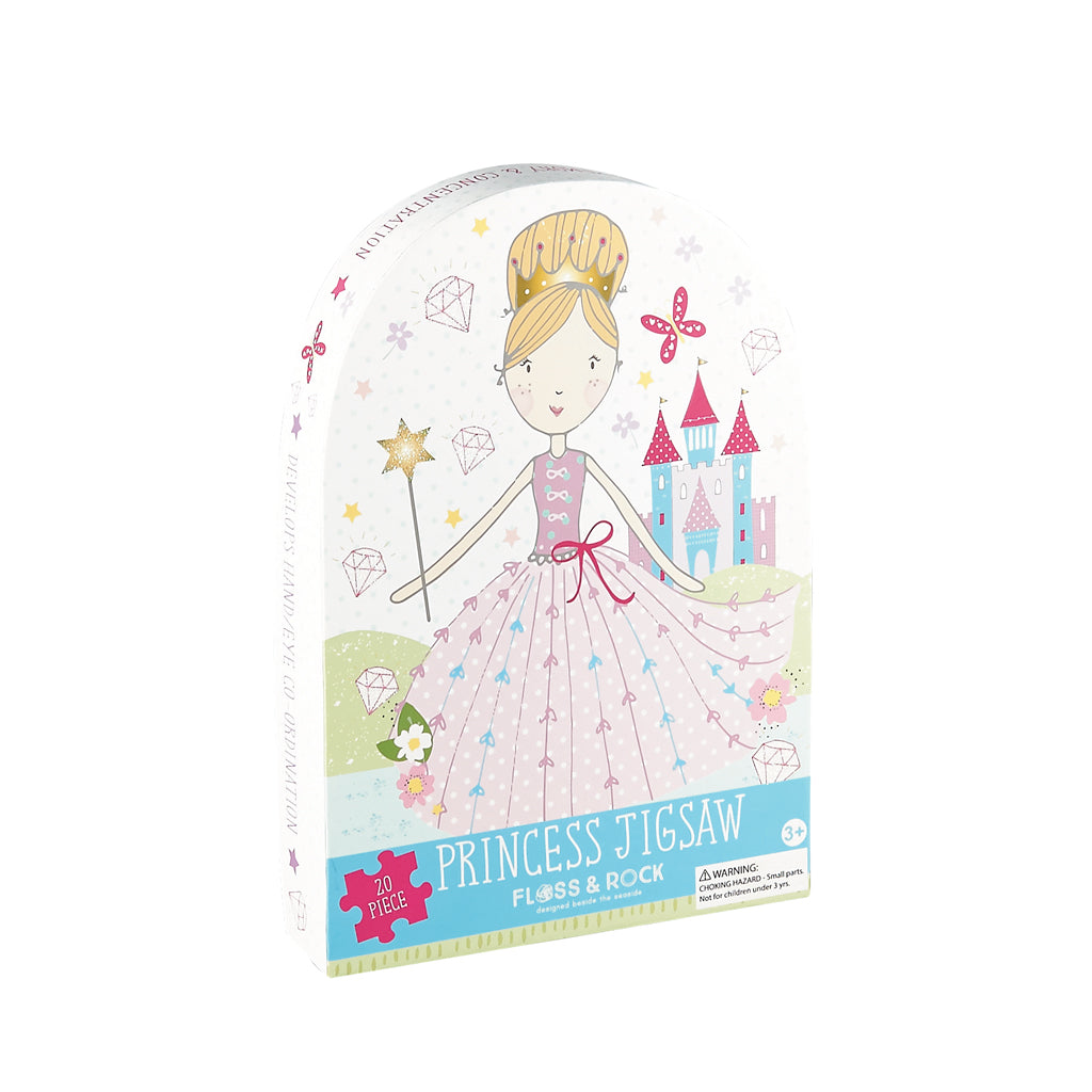 Floss and Rock Jigsaw Puzzle 20 pieces - Princess