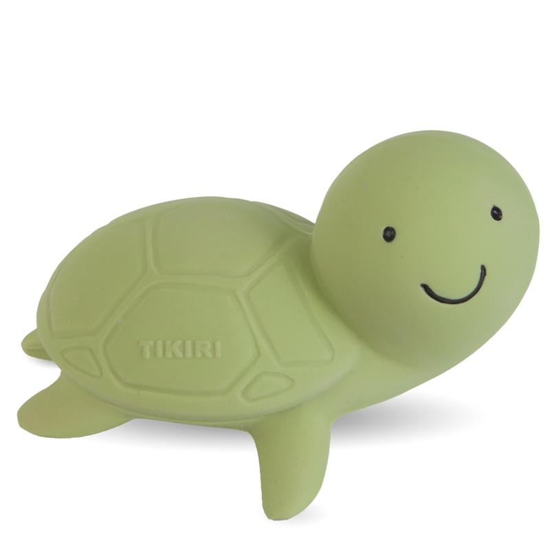 Tikiri 3-in-1 Bath Toy, Rattle & Teether - Turtle