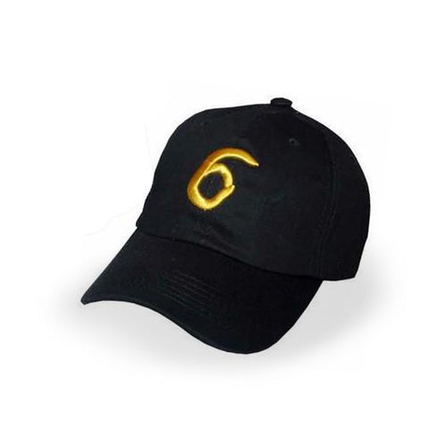 Black Drake 6 God Cap - Haberfasher