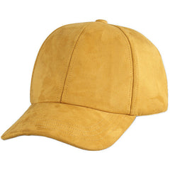 Wine Red Basic Suede Cap - Haberfasher