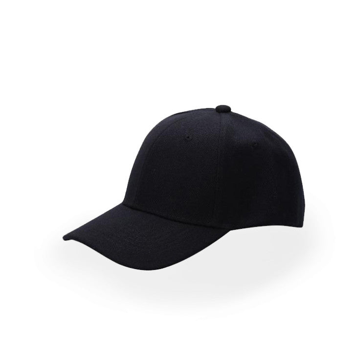 a4b7781a7 Black Plain Baseball Cap
