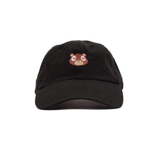 Black Kanye West Dropout Bear Cap - Haberfasher