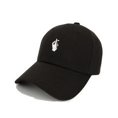 Black Love Hand Sign Cap - Haberfasher