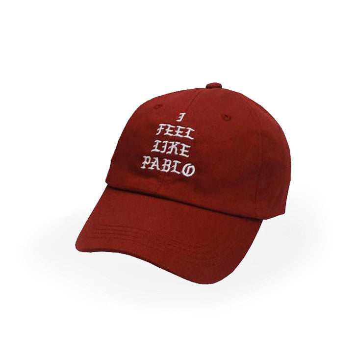 buy online 21048 d0743 Red Kanye West I Feel Like Pablo Cap - Haberfasher
