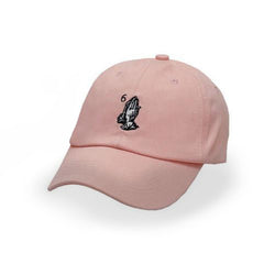 Pink Drake 6 God Prayer Hands Cap - Haberfasher