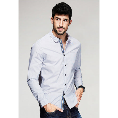 Tommy Long Sleeve Shirt - Haberfasher