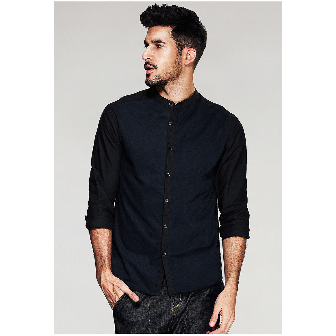 Alexander Black Shirt - Haberfasher