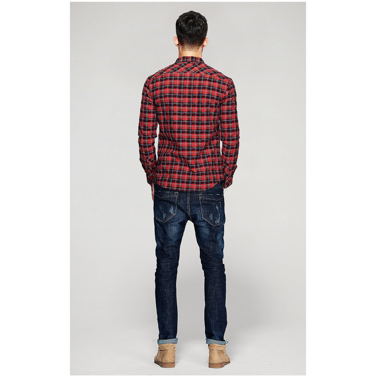 Ken Red Plaid Shirt - Haberfasher