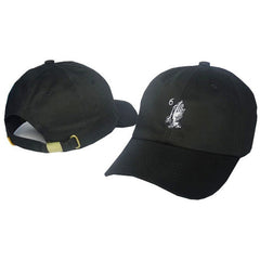 White Drake 6 God Prayer Hands Cap - Haberfasher