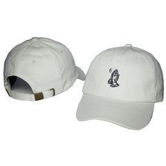 Khaki Drake 6 God Prayer Hands Cap - Haberfasher