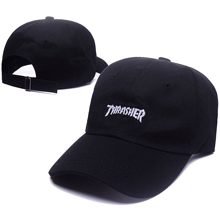 White Small Thrasher Logo Cap - Haberfasher