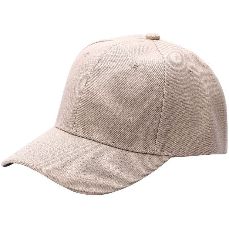 Black Plain Baseball Cap - Haberfasher