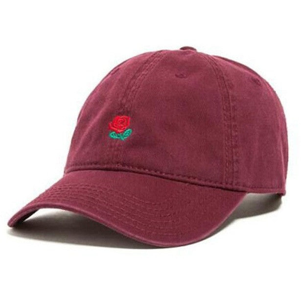 Navy The Hundreds Rose Cap - Haberfasher