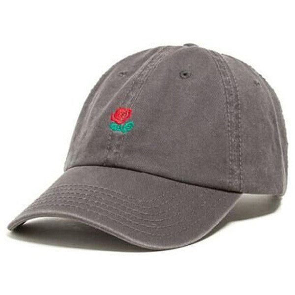 Black The Hundreds Rose Cap - Haberfasher