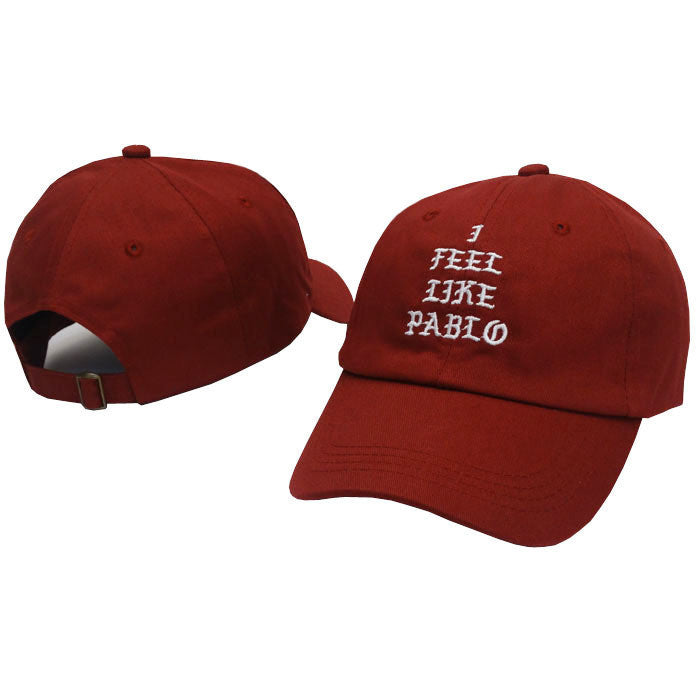 Black Kanye West I Feel Like Pablo Cap - Haberfasher