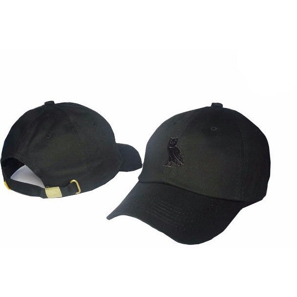 Black Drake 6 God Gold Owl Cap - Haberfasher