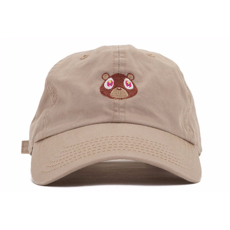 Pink Kanye West Dropout Bear Cap - Haberfasher