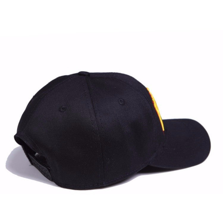 Black Original Thrasher Logo Cap - Haberfasher