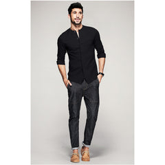 Sam Casual Black Shirt - Haberfasher