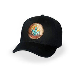 Black Travis Scott Rodeo Cap - Haberfasher