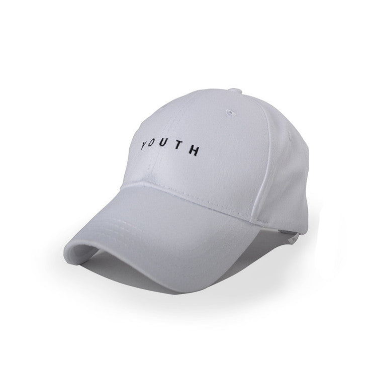 White Youth Cap - Haberfasher