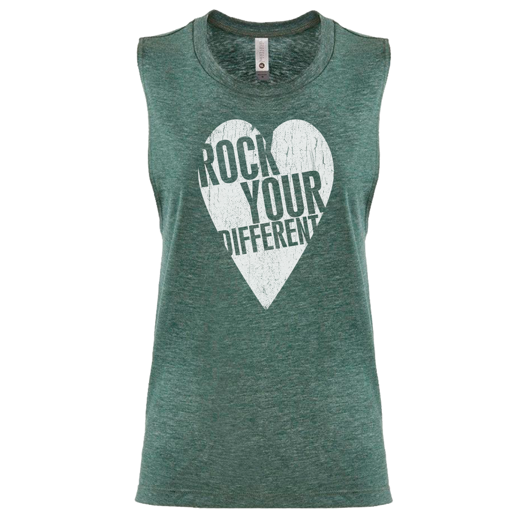 Women's Muscle Tank - Royal Pine