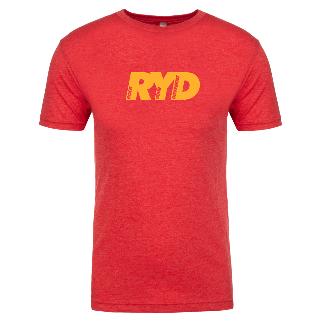 RYD Logo - Red/Yellow Ink- Mens