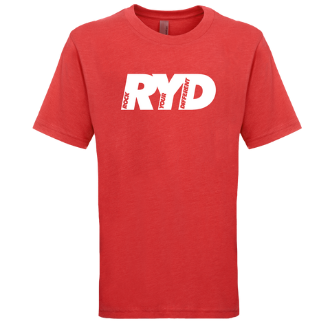 RYD Logo Youth Vintage Red