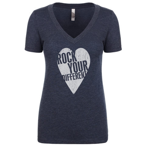 I Heart RYD T-Shirt - Women's - Vintage Navy