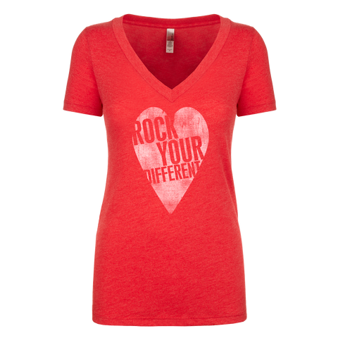 I Heart RYD T-Shirt - Women's - Vintage Red