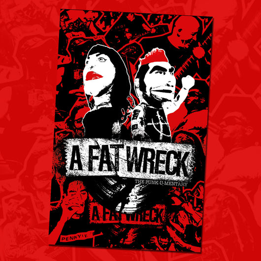 A Fat Wreck SCREEN-PRINTED POSTER