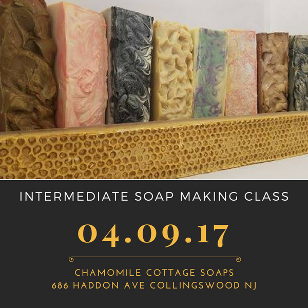 Intermediate Soap Making Class
