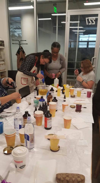 Spring Break Candle Class
