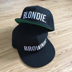 BLONDIE BROWNIE Snapbacks - Girlz Code