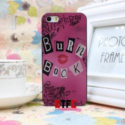 Burn Book - Mean Girls movie Design Hard Black Skin Case Cover for iPhone 4 4s 4g 5 5s 5g