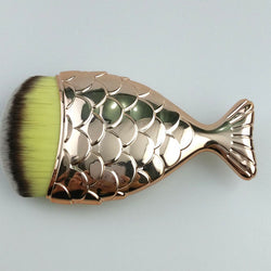 1pcs Black/Silver/Gold Mermaid Bronzer Brush