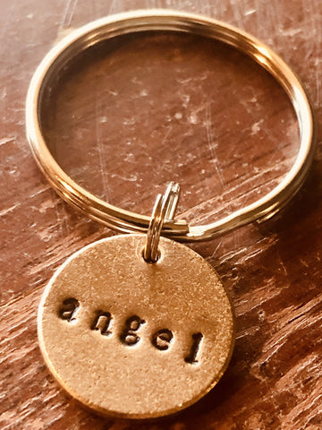 Angel A Well Run Life Angel Key Chain