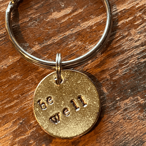 Be Well A Well Run Life The Be Well Key Chain