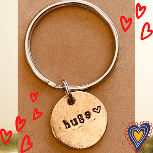 Hugs A Well Run Life The Hugs Key Chain