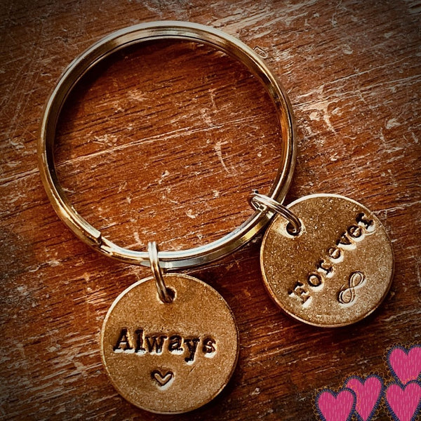 The Always and Forever Key Chain A Well Run Life Always and Forever