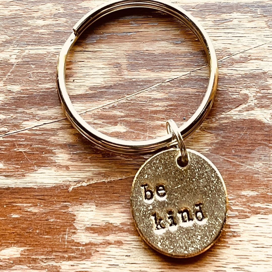 Be Kind A Well Run Life The Be Kind Key Chain ($14.99)