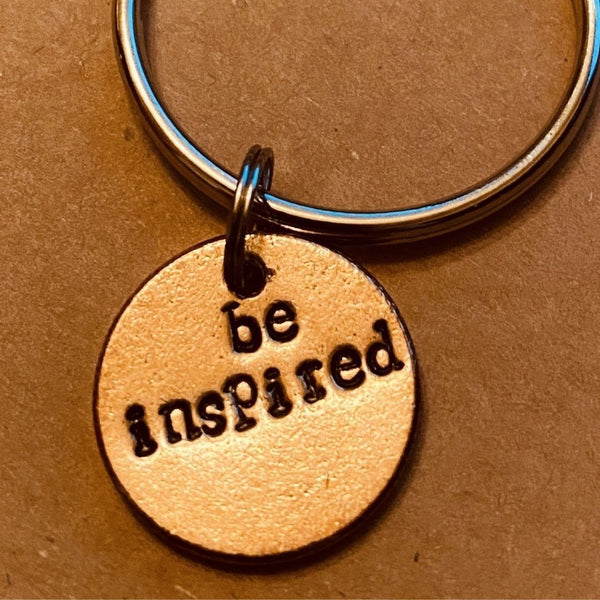 Be Inspired A Well Run Life The Be Inspired Key Chain ($19.99)