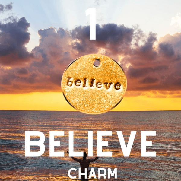 Believe A Well Run Life Believe Once ($10.99 No Key Ring)