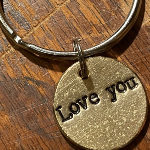 Love You A Well Run Life The Love You Key Chain ($19.99)