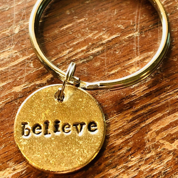 Believe A Well Run Life The Believe Key Chain ($19.99)