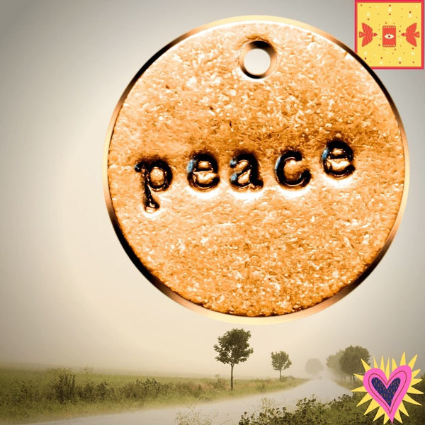 Peace A Well Run Life 1 Peace Charm ($10.99 No Key Ring)