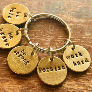Just Keep Going A Well Run Life Just Keep Going. The Key Chain ($29.99)